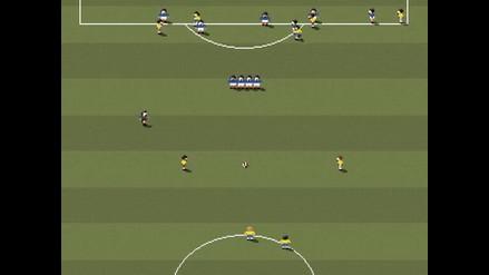 Roberto Carlos y su espectacular gol a Francia en formato de Super Nintendo