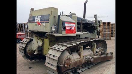 Sunat rematará maquinaria pesada, autos, equipos médicos y oficina