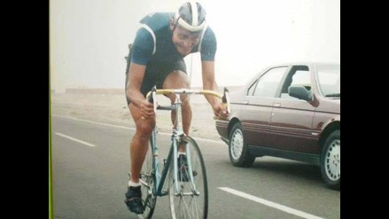 Anibal Seminario, el ciclista que participó de la clásica internacional de RPP