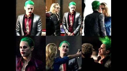 Suicide Squad: Jared Leto como Joker en set de grabación