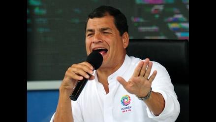 Rafael Correa: Si hubiese agua y alcantarillado no existiría el dengue