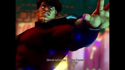 Street Fighter V: Nuevo tráiler muestra a M. Bison en acción
