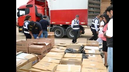 Decomisan más de 25 mil cajetillas de cigarros de contrabando