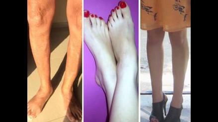 Facebook: ¿por qué las mujeres comparten fotos de sus piernas?