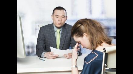 Los seis errores más comunes en la entrevista de trabajo
