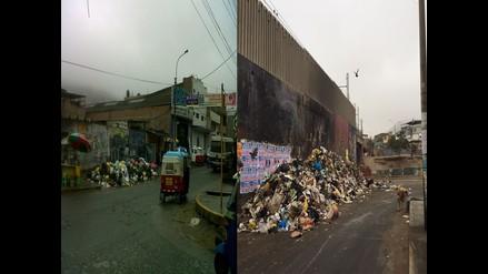 WhatsApp: basura contamina calles de VMT