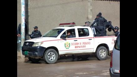 Huancayo: marcas roban y disparan a pareja de empresarios