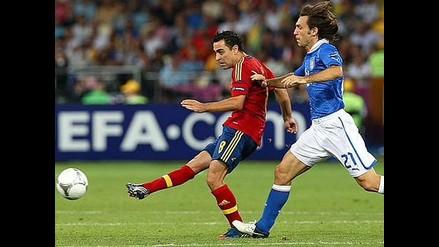Xavi y la posibilidad de coincidir con Andrea Pirlo en un mismo equipo