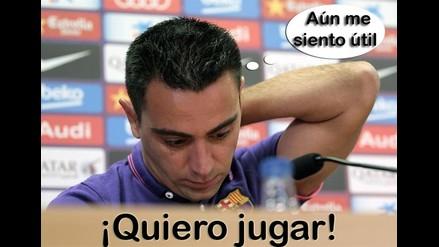 Xavi Hernández: Es el momento de dejar al Barcelona, aún me siento útil