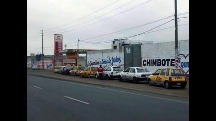Continúa el desabastecimiento de GLP en grifos de Chimbote