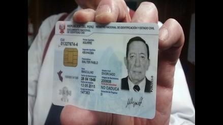 Documento de identidad electrónico se entrega en Arequipa