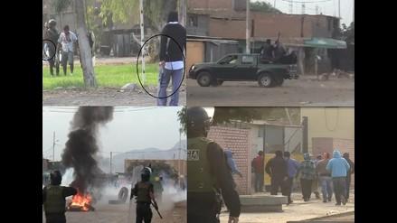 Chiclayo: cuestionan actuación policial durante enfrentamiento en Pomalca
