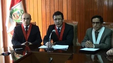 Arequipa: jueces por PJ emiten pronunciamiento