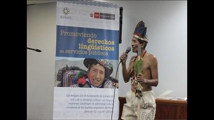 Más de 70, 000 awajún se beneficiarán con primer registro civil bilingüe