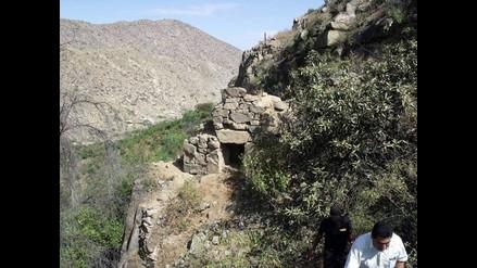 Áncash: descubren tumba preinca de piedras labradas