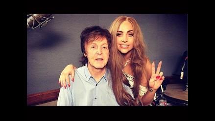 Confirmado: McCartney colabora con Lady Gaga en nuevo sencillo