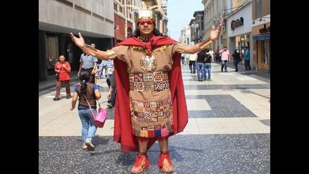Nivardo Carrillo, el inca del Inti Raymi ofrece concierto y presenta DVD