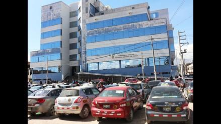 Huancayo: taxistas realizaron plantón en el Ministerio Público