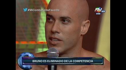 Combate: Bruno Agostini fue eliminado del programa