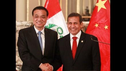 Humala: Tren bioceánico consolidará comercio bilateral con China