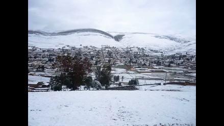 Continúan presentándose bajas temperaturas en Cerro de Pasco