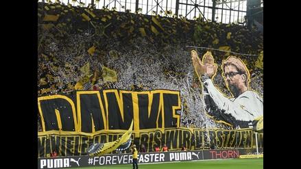 Bundesliga: Jurgen Kloop tuvo espectacular despedida en Borussia Dortmund