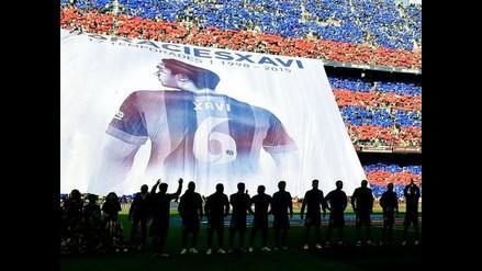 Barcelona: Xavi Hernández y el impresionante recibimiento en el Camp Nou