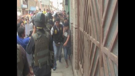 Chiclayo: población intentó linchar a cuatro ladrones