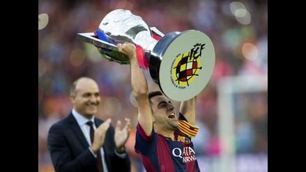 Barcelona: Xavi Hernández se despidió entre lágrimas de la Liga española