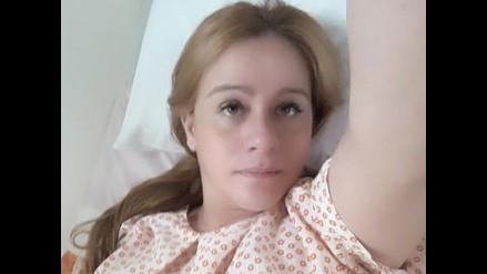 Lourdes Sancín se convirtió en mamá