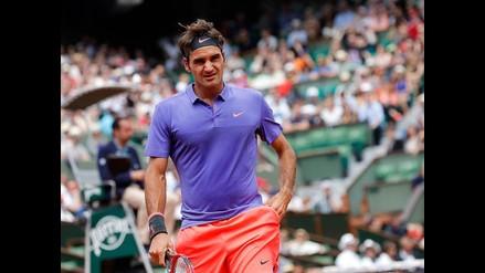 Roger Federer se molestó con fanático que le pidió un 'selfie'