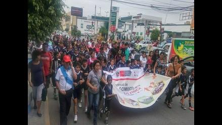 Lambayeque: con maratón promueven unidad familiar y buena salud física
