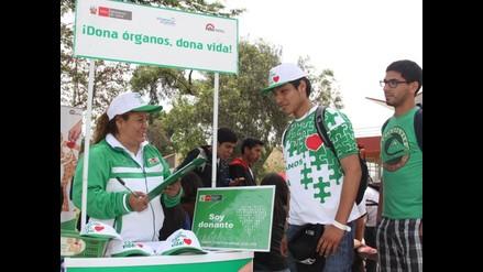 Más de 100,000 peruanos tienen voluntad de donar sus órganos