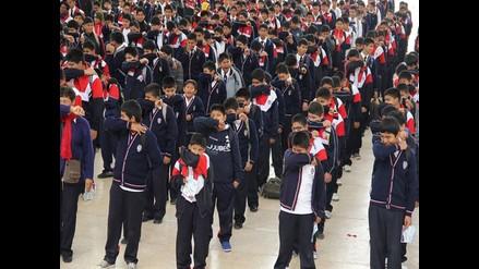 Arequipa: retrasan horario de ingreso a colegios por frío