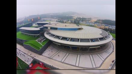 YouTube: chino construye nave Enterprise de Star Trek para oficinas