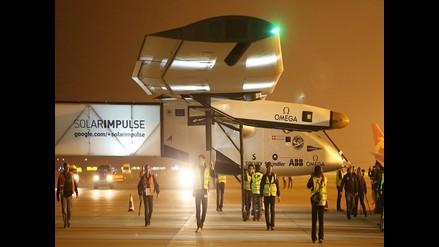Avión solar Impulse se prepara para su gran travesía por el Pacífico