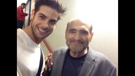 Edgar Vivar, el 'Señor Barriga', visitó al elenco de Full Monty
