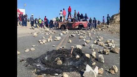 WhatsApp: manifestantes protestan contra minera en Marcona