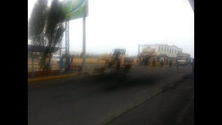 Tía María: Policía Nacional toma el control de carreteras en Tambo