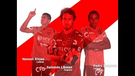 Trujillo: arquero y dos defensas de UCV están en selección peruana