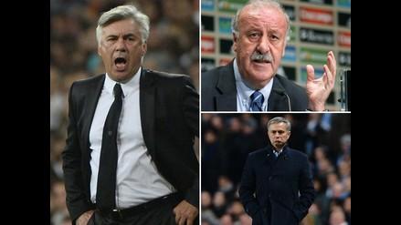 Desde Del Bosque hasta Ancelotti: Estos técnicos fueron echados por Florentino
