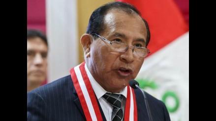 Presidente del Poder Judicial exhorta a Belaunde a entregarse a la justicia