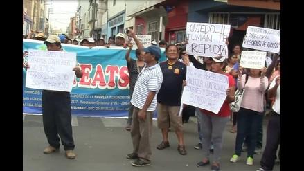 Trabajadores de Tumán anuncian plantones permanentes en juzgado