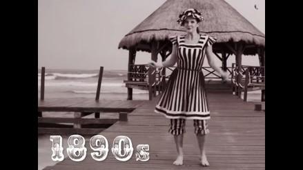 YouTube: así evolucionaron las ropas de baño desde 1890