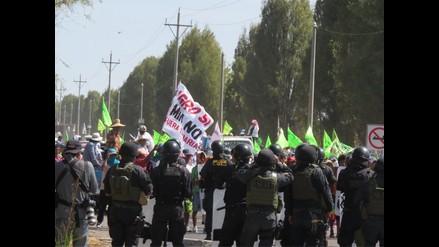 Suspenden labores escolares en Arequipa, Tacna y Puno por paro macroregional