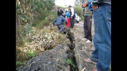 Socosbamba: esperan informe del Ingemmet para reubicar a familias