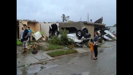 México: Voraz tornado deja al menos 13 muertos en Estado de Coahuila