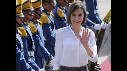 Letizia visita Honduras y El Salvador en su primer viaje de cooperación