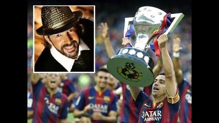 Barcelona festejó al son de 'La Bilirrubina' y comentó salida de Ancelotti