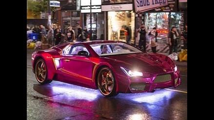 Suicide Squad: Revelan autos de 'El Guasón' y 'Batman'